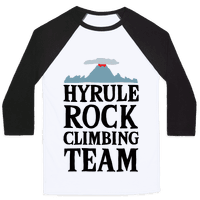 Hyrule Rock Climbing Team Baseball