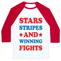 Stars Stripes And Winning Fights Baseball