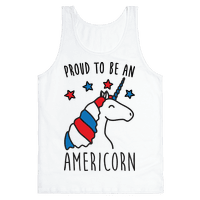 Proud To Be An Americorn Tank