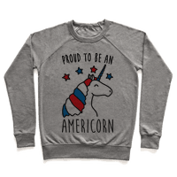 Proud To Be An Americorn Pullover