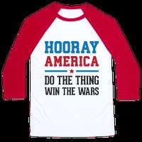 Hooray America Baseball