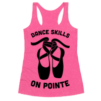 Dance Skills On Pointe Racerback