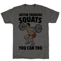 Justin Trudeau Squats You Can Too