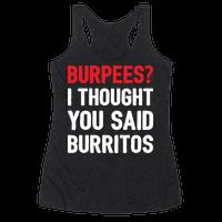 Burpees? I Thought You Said Burritos