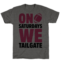On Saturdays We Tailgate