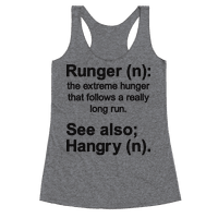 Runger Definition Racerback