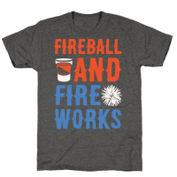 Fireball and Fire Works Tee