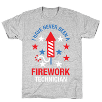 Firework Technician Red White and Blue