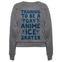 Training To Be A Gay Anime Ice Skater