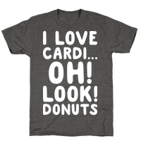 I Love CardiOh! Look! Donuts (White)