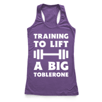 Training To Lift A Big Toblerone
